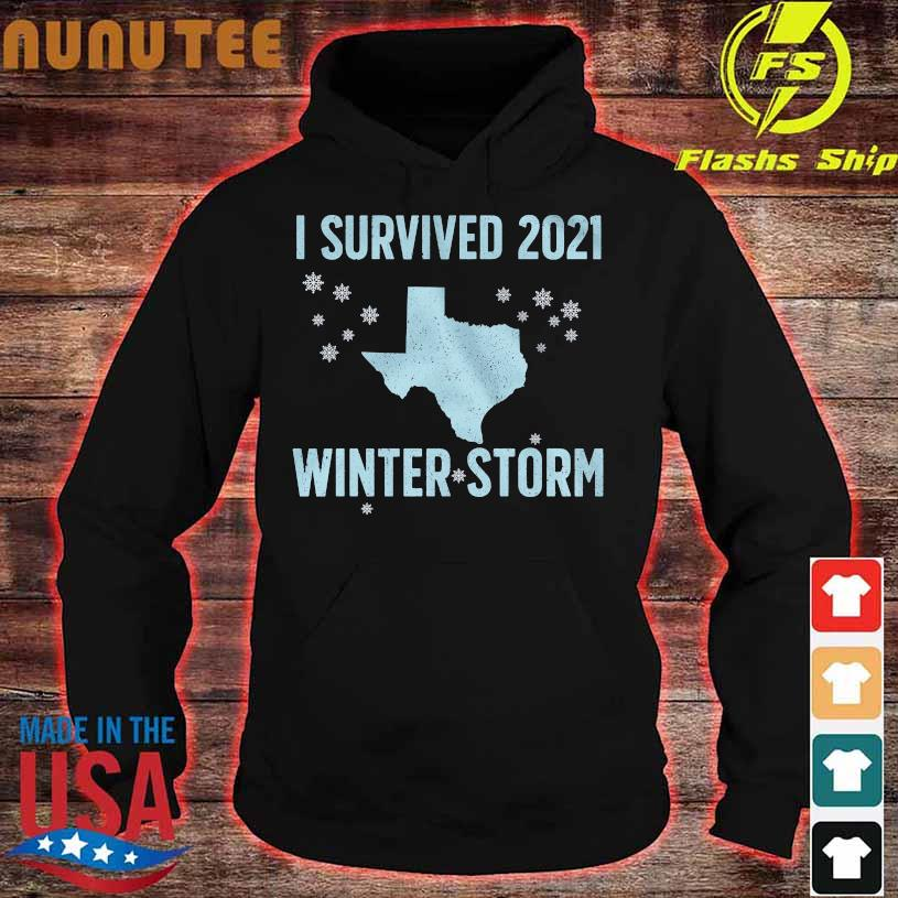 I survived 2021 winter storm hoodie