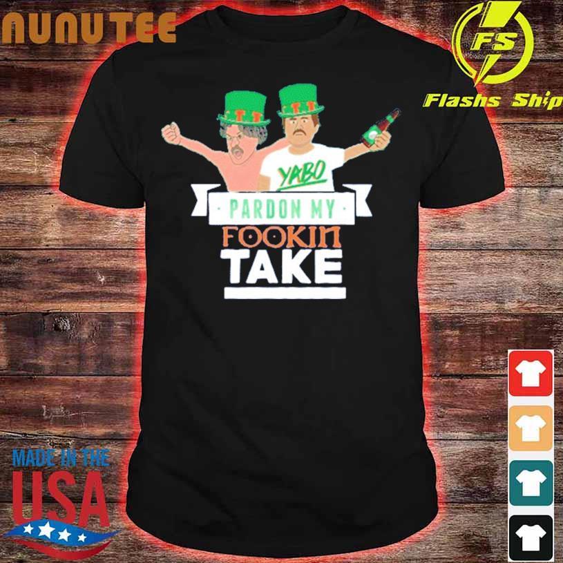 Pardon My Take St Patricks Day Tie Dye Shirt