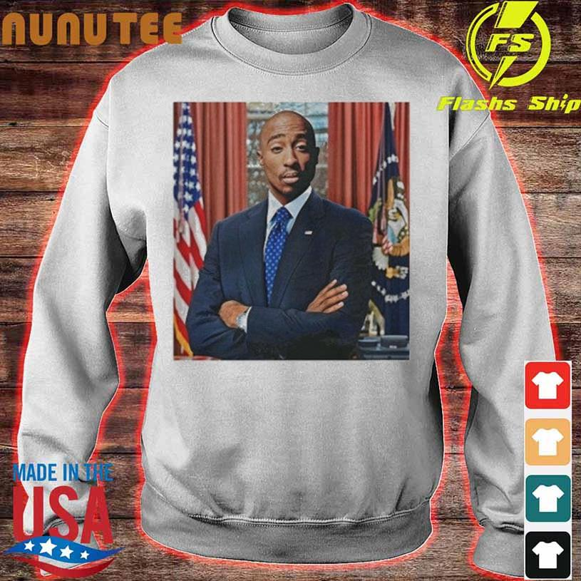 Tupac For President s sweater