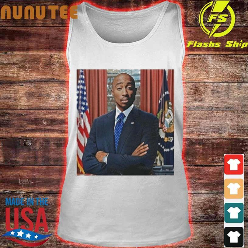 Tupac For President s tank top