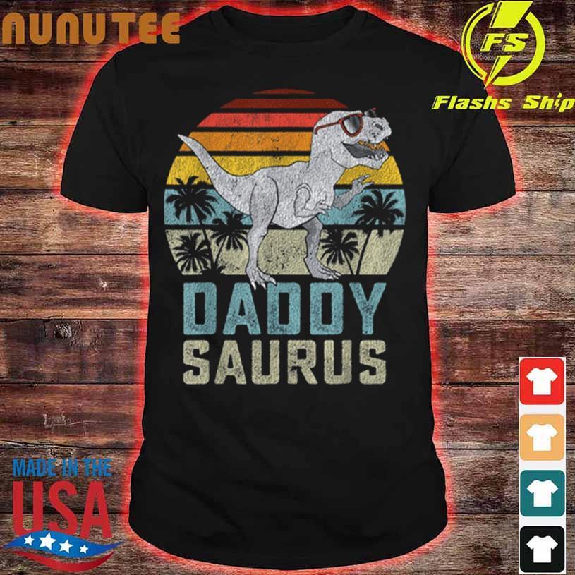 Daddysaurus T Rex Dinosaur Daddy Saurus Family Matching T-Shirt