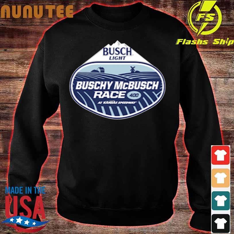 Kansas Speedway The Buschy Mcbusch Race 400 Shirt sweater