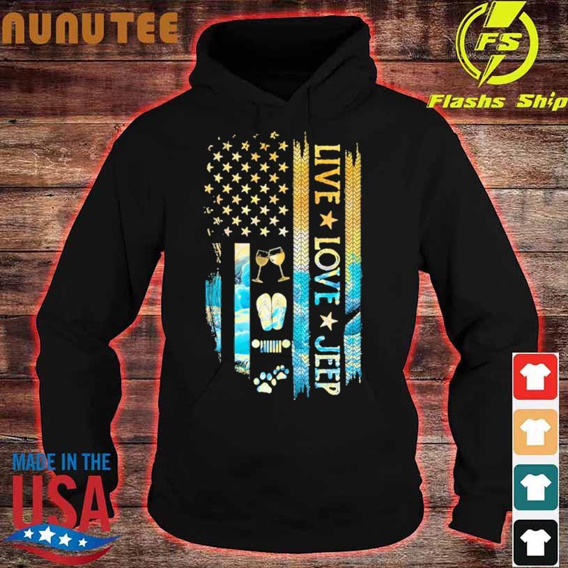 Live love Jeep hoodie