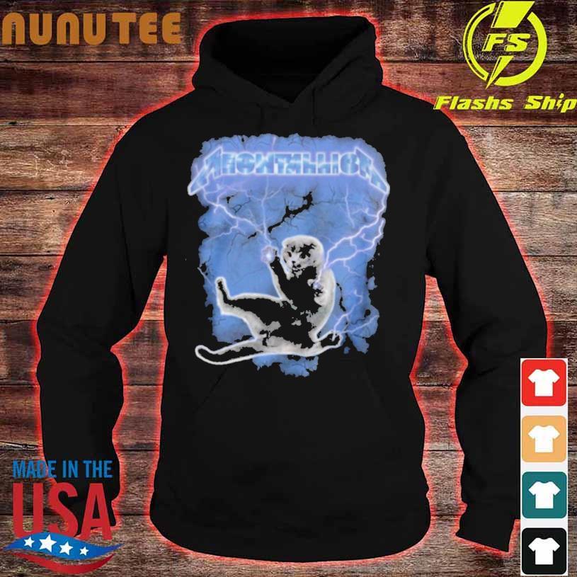 Meowtallica Thunder hoodie