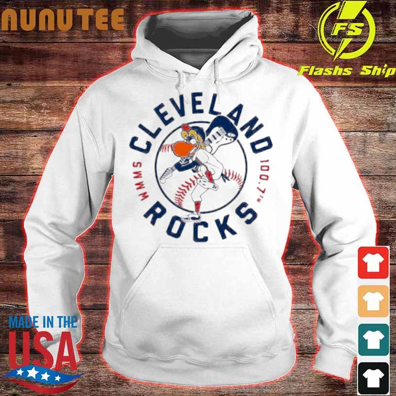 Cleveland Rocks Baseball Shirt hoodie