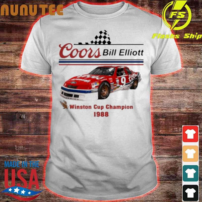Coors Bill Elliott Winston Cup Champion 1988 Shirt