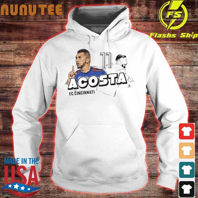 Lucho Acosta mlspa spotlight hoodie
