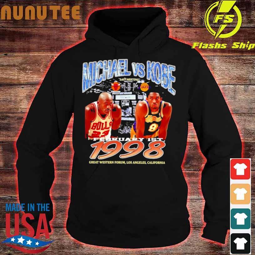 Michael Bryant Los Angeles Laker Vs Chicago Bulls Shirt hoodie