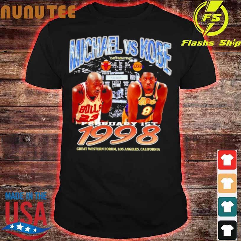 Michael Bryant Los Angeles Laker Vs Chicago Bulls Shirt