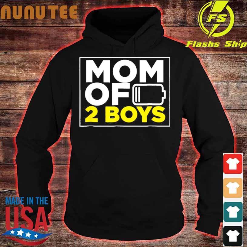 Mom Of 2 Boys Shirt hoodie