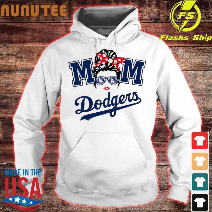 Mom Skull Los Angeles Dodgers Baseball 2021 Shirt hoodie
