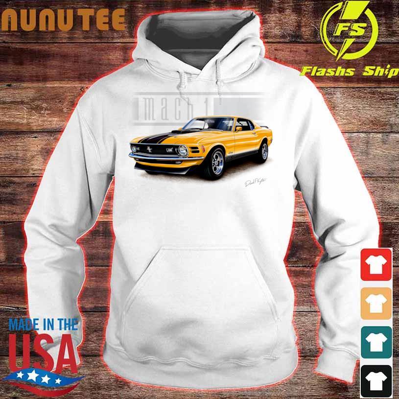 Mustang Mach 1 1970 In Grabber Orange Shirt hoodie