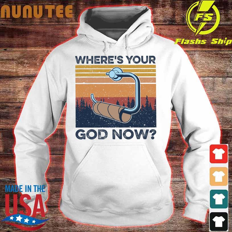 Where's Your god now vintage hoodie