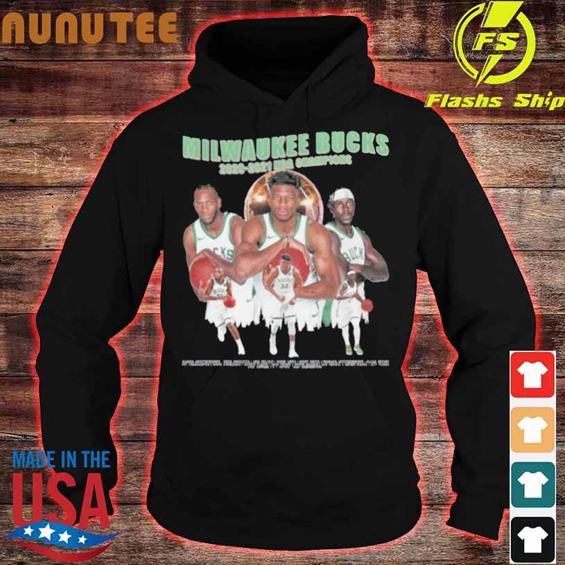 Milwaukee Bucks Championship 2020 2021 Shirt hoodie