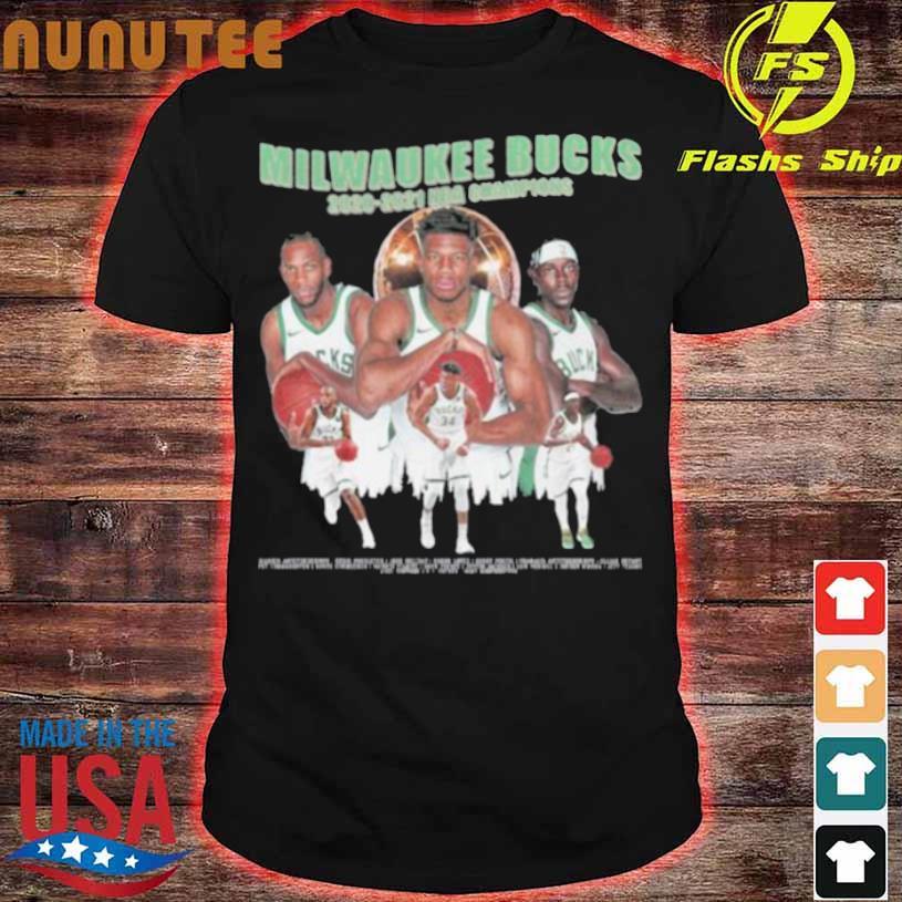 Milwaukee Bucks Championship 2020 2021 Shirt