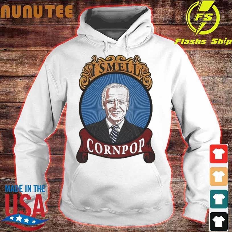 Joe Biden I smell corn pop shirt - Myfrogtee