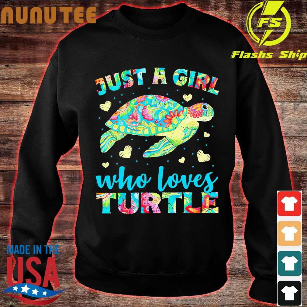 Just a Girl who loves Turtle Shirt sweater