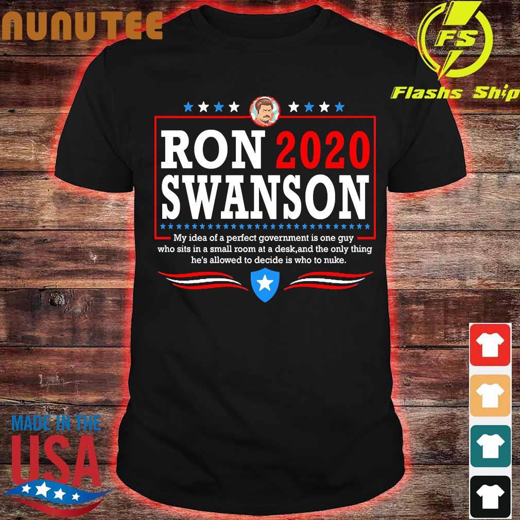 Parks ron 2020 swanson Shirt