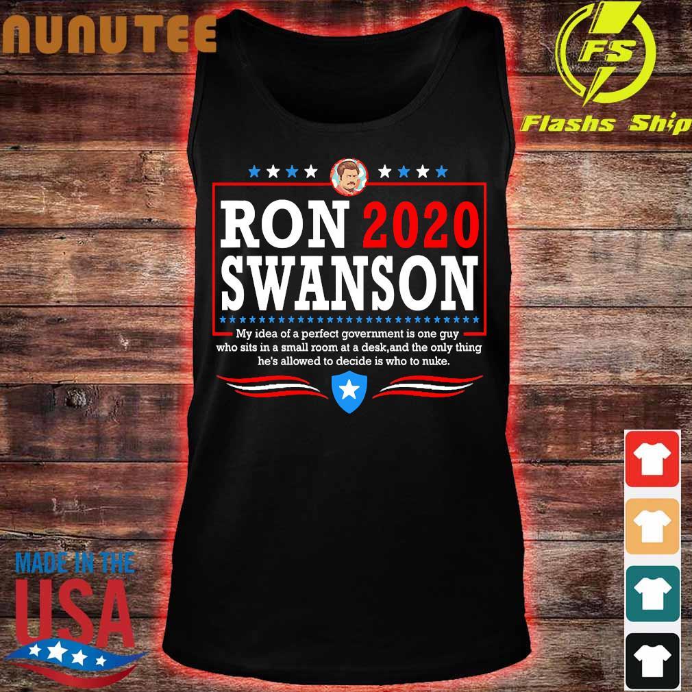 Parks ron 2020 swanson Shirt tank top
