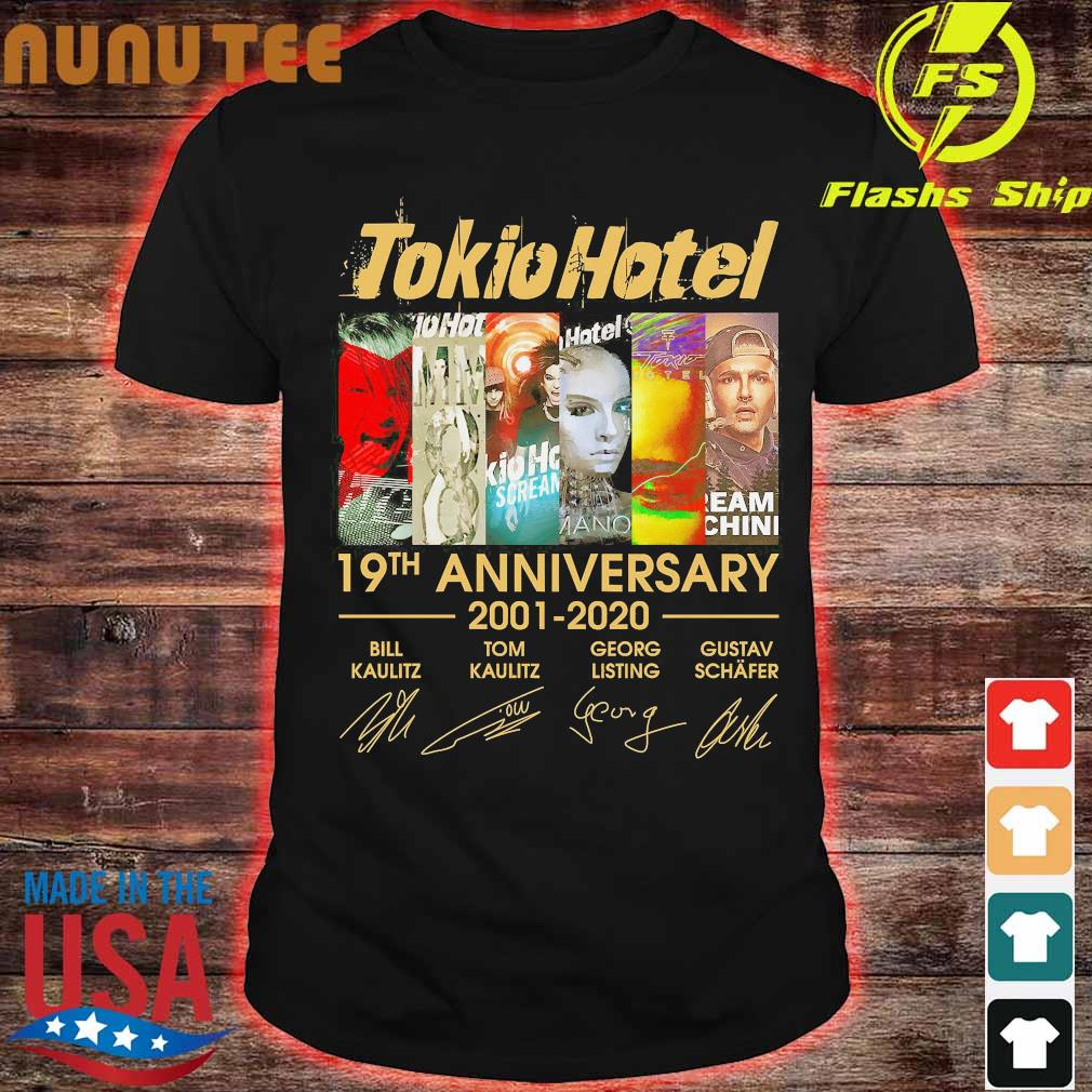 Tokio Hotel 19th anniversary 2001 2020 signatures Shirt