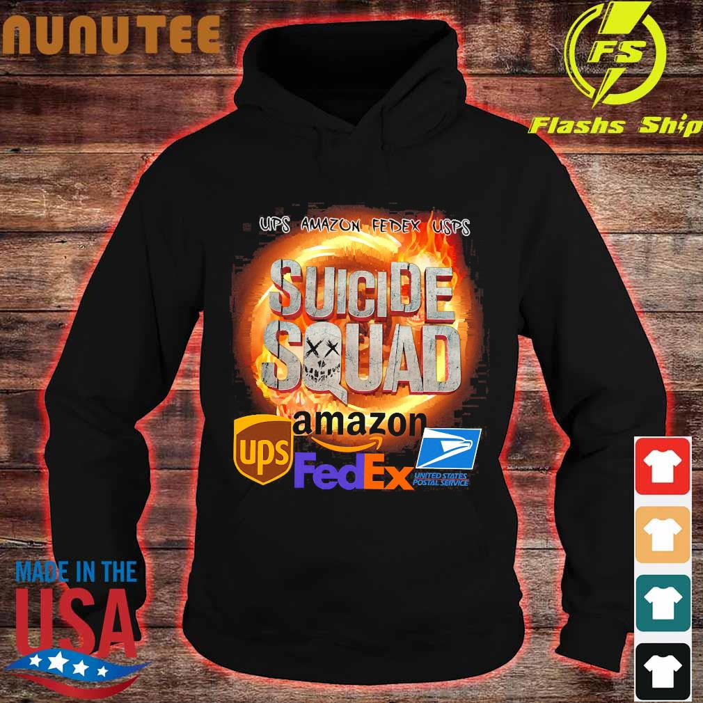 Ups Amazon Fedex Usps Suicide Squad Amazon Ups FedEx Shirt hoodie
