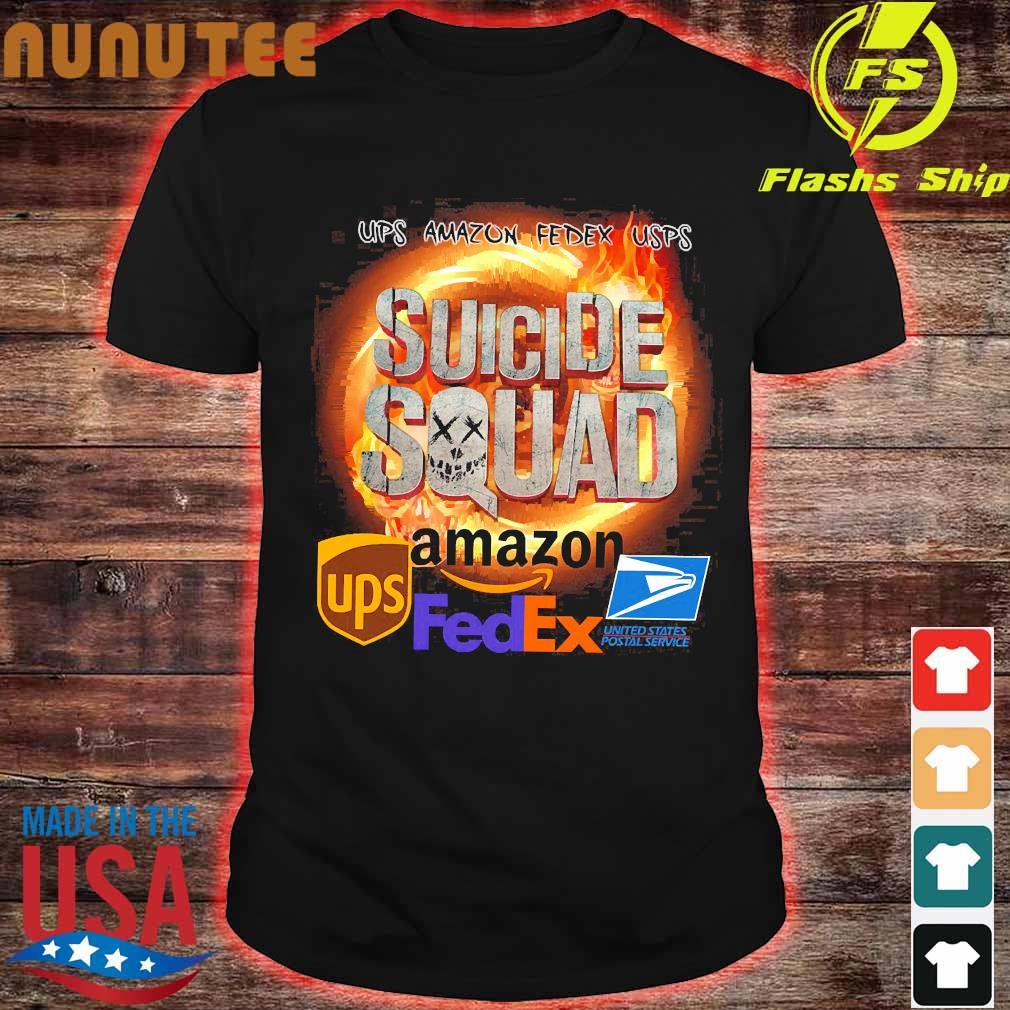 Ups Amazon Fedex Usps Suicide Squad Amazon Ups FedEx Shirt