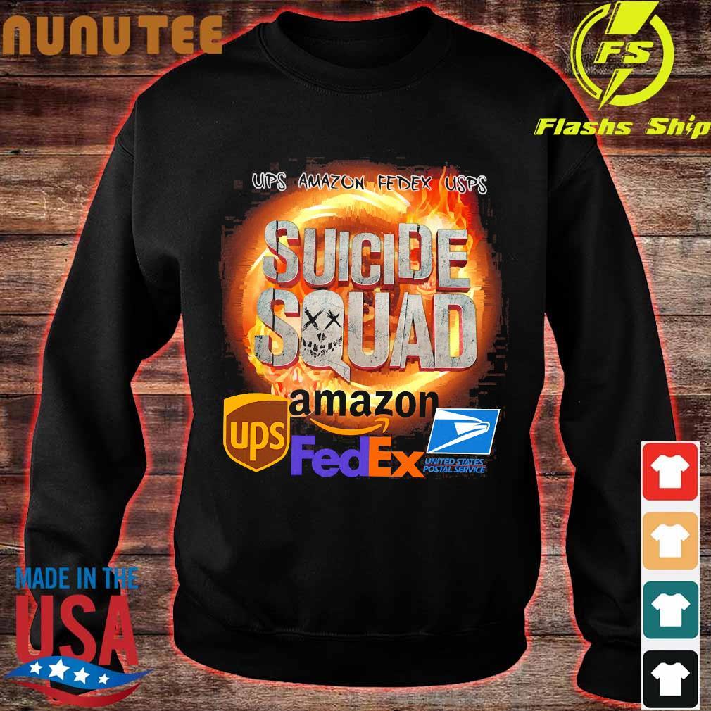 Ups Amazon Fedex Usps Suicide Squad Amazon Ups FedEx Shirt sweater