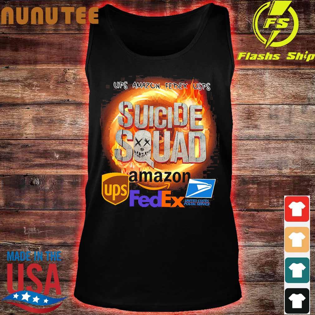 Ups Amazon Fedex Usps Suicide Squad Amazon Ups FedEx Shirt tank top