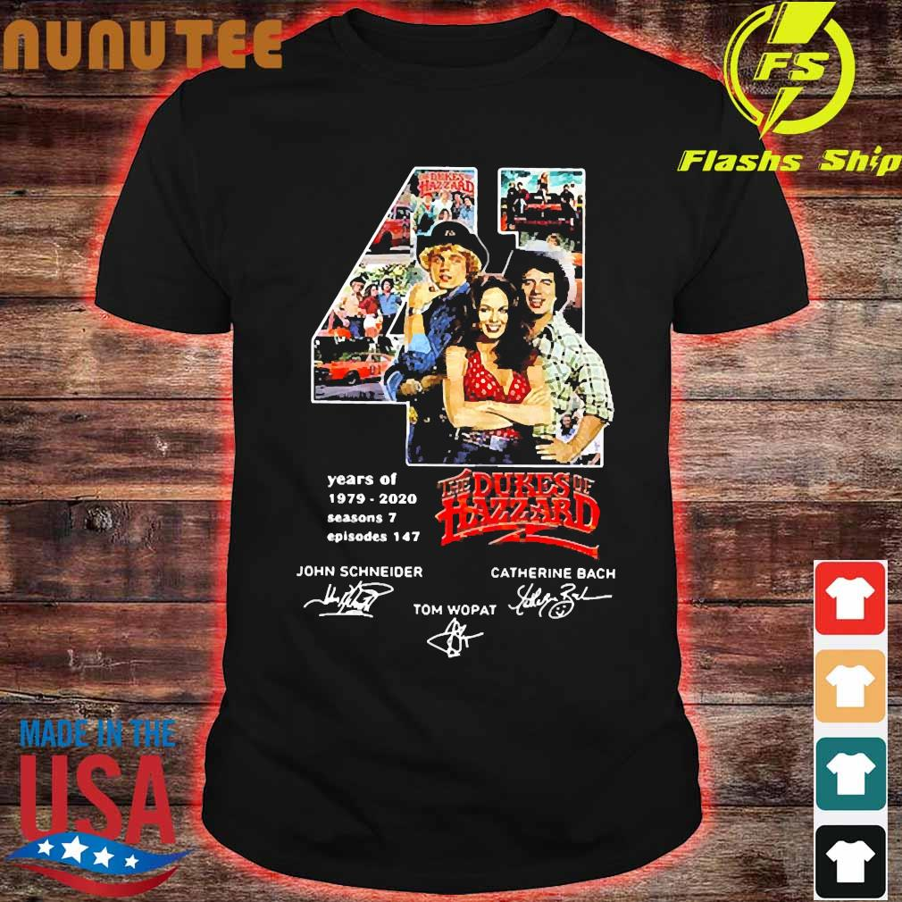 41 Years of 1979 2020 seasons 7 episodes 147 the Dukes of Hazzard signatures shirt