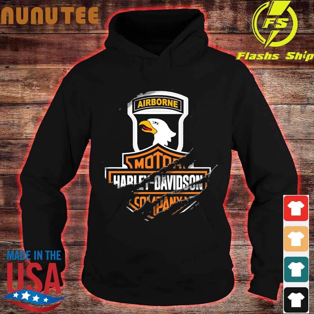101st Airborne Division Motor Harley Davidson Cycles s hoodie