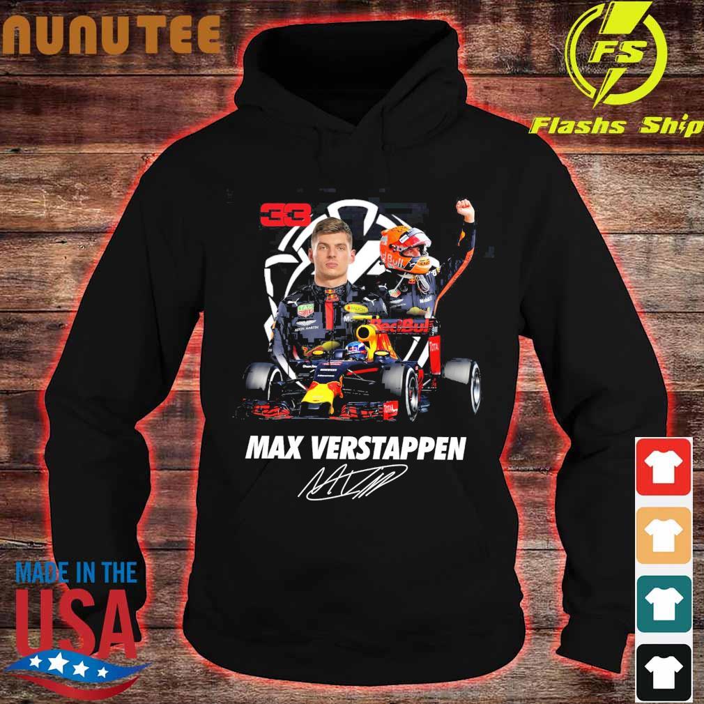 33 Red Bull Max Verstappen signature s hoodie