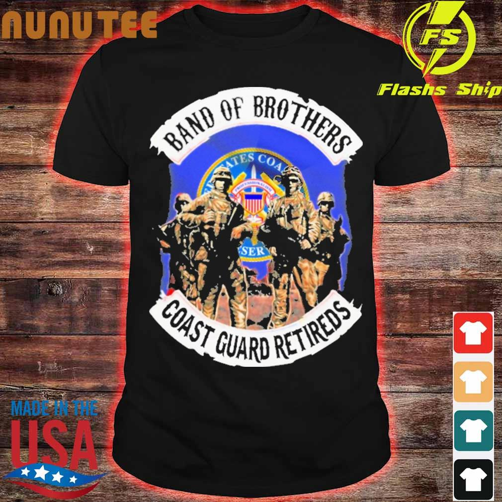 Band of Brother Coast guard retireds shirt