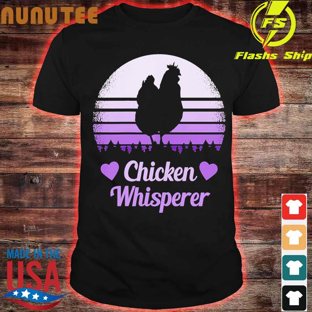 Chicken whisperer vintage shirt