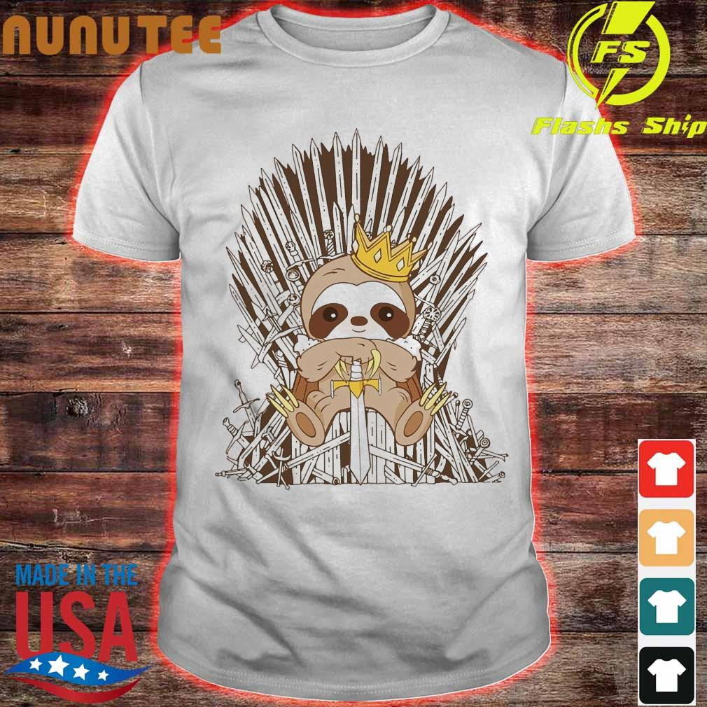 Game Of Throne Sloth Iron King Shirt
