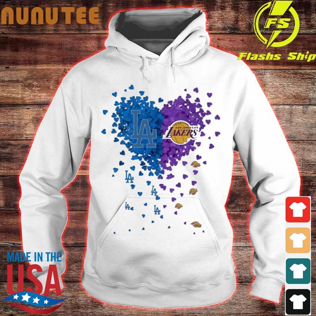 Heart Los Angeles Lakers s hoodie