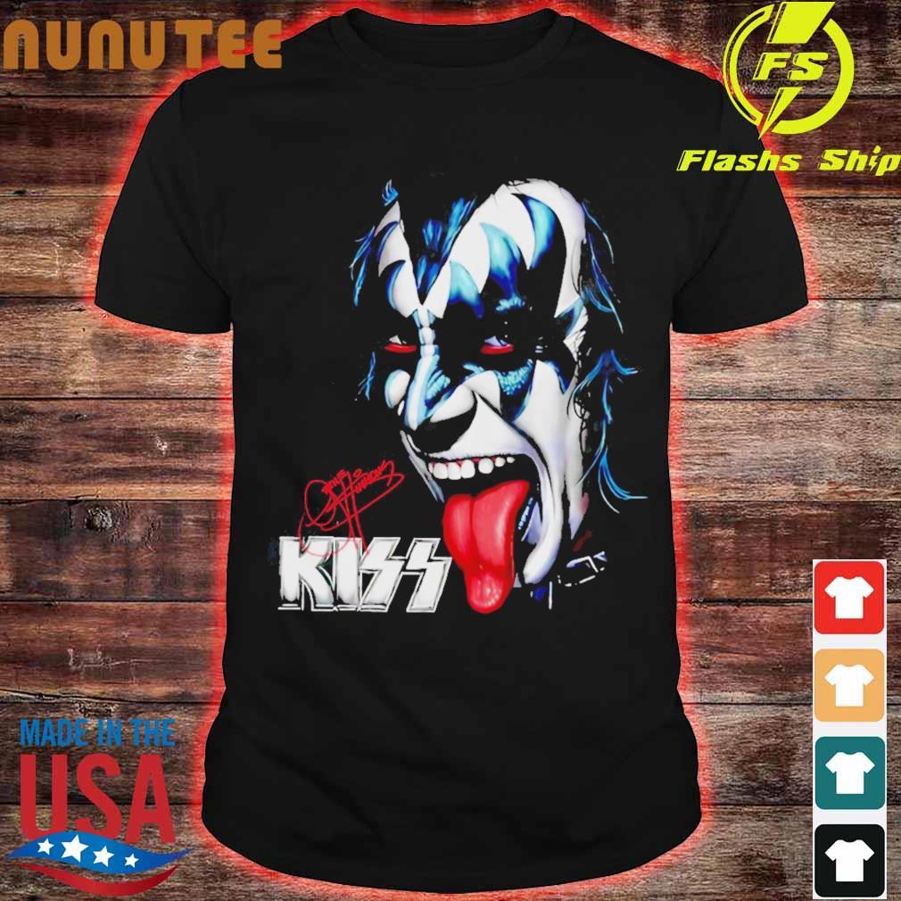Kiss signature shirt