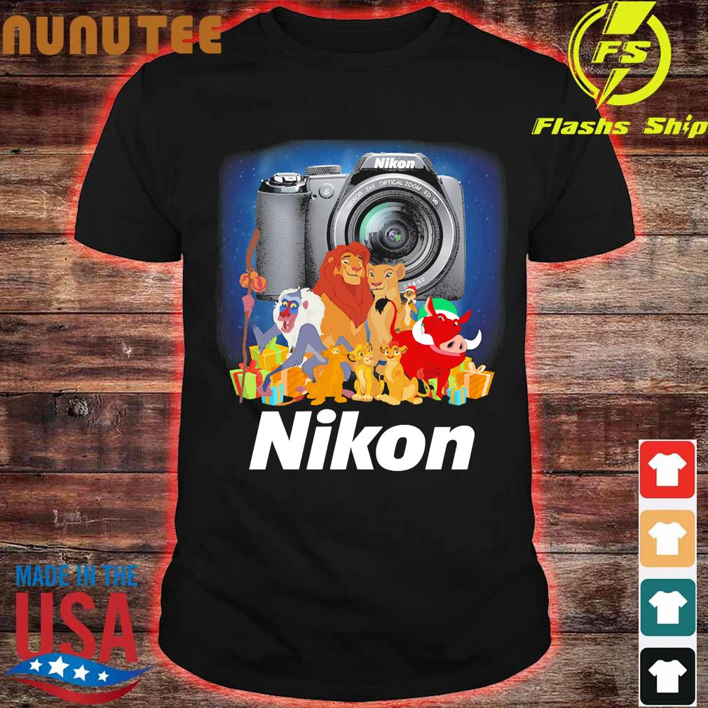 The Lion King characters Nikon shirt