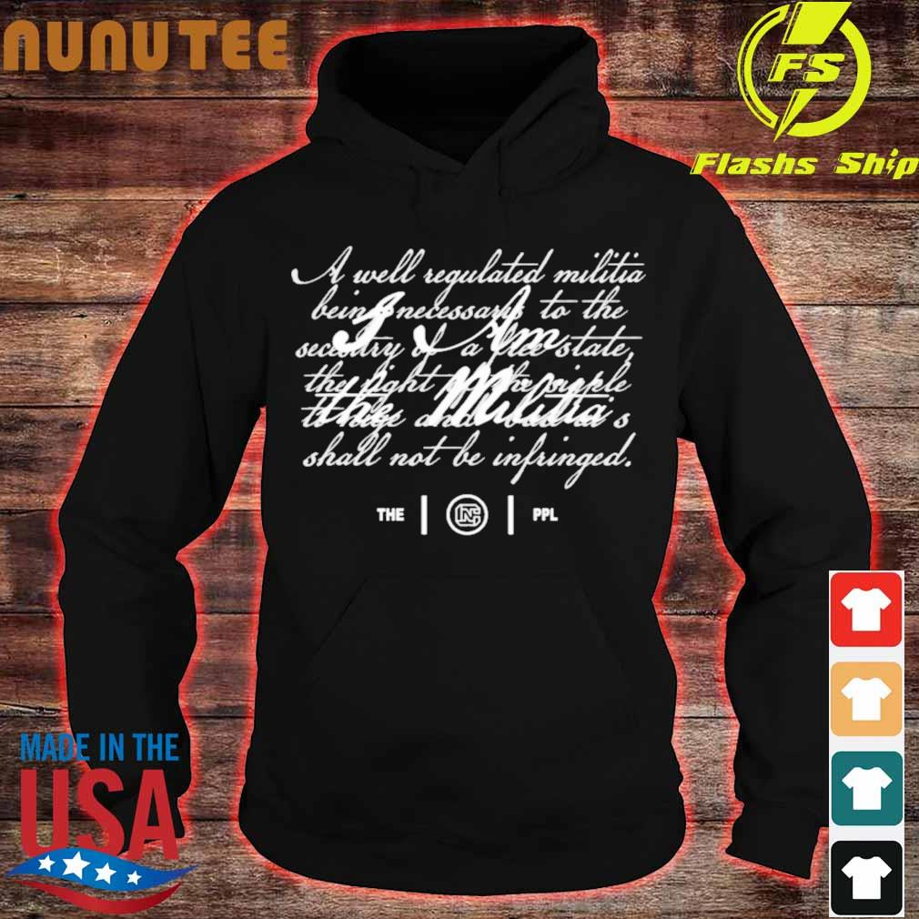 Colion Noir Merch I Am The Militia Shirt hoodie