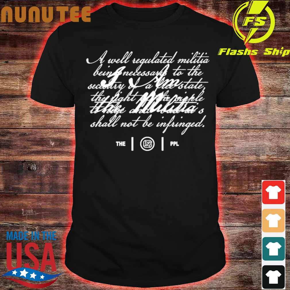 Colion Noir Merch I Am The Militia Shirt
