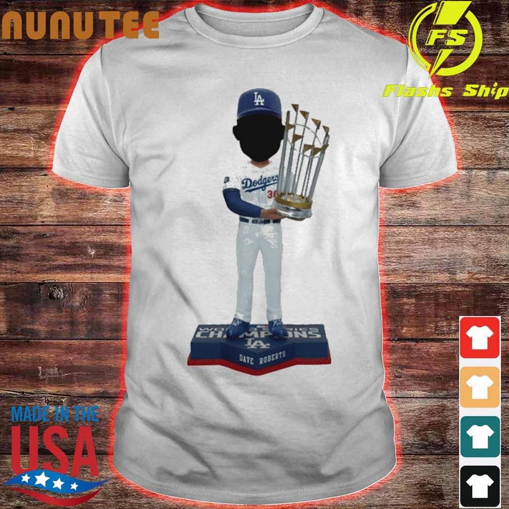 Dave Roberts Los Angeles Dodgers 2020 World Series Champions Shirt
