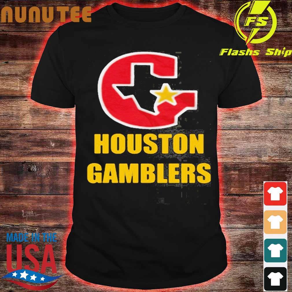 Houston Gamblers Shirt