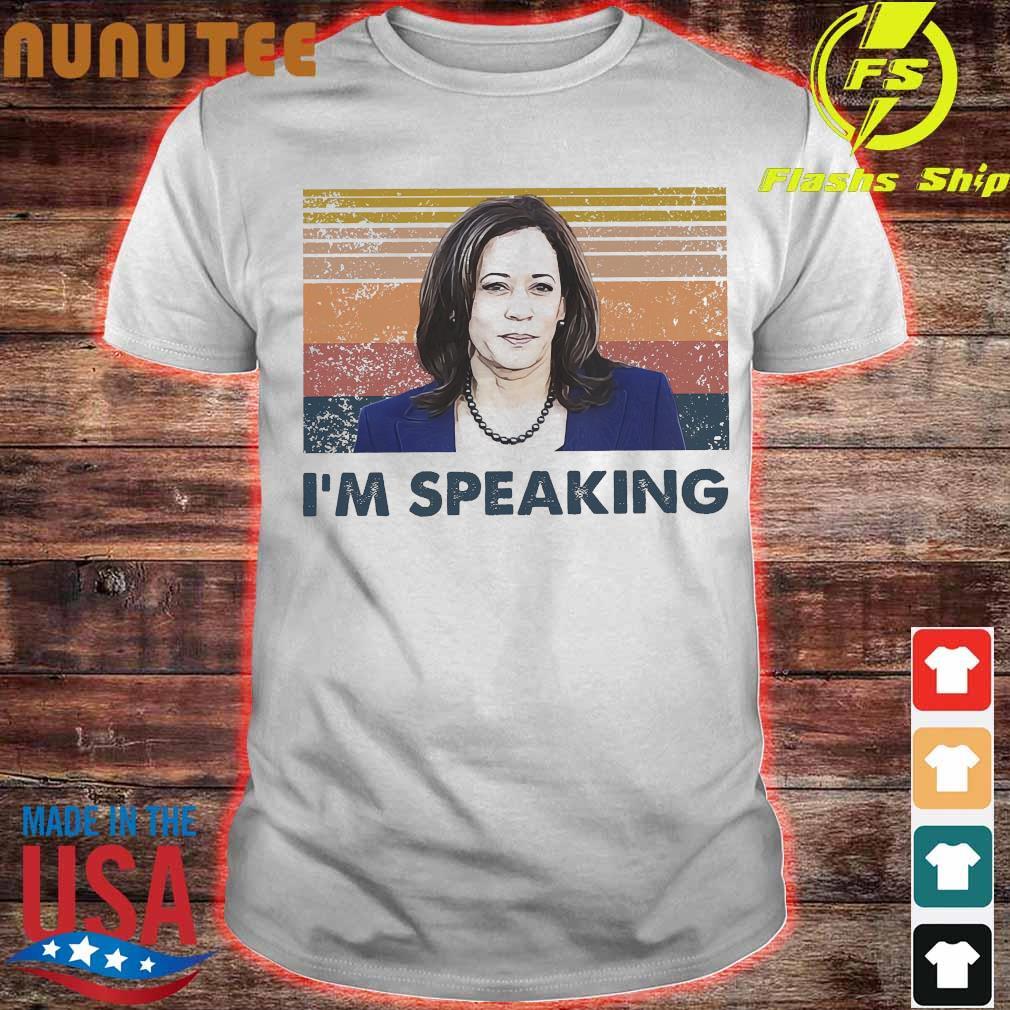 Kamala Harris I'm speaking vintage shirt