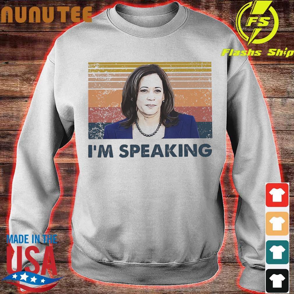 Kamala Harris I'm speaking vintage s sweater