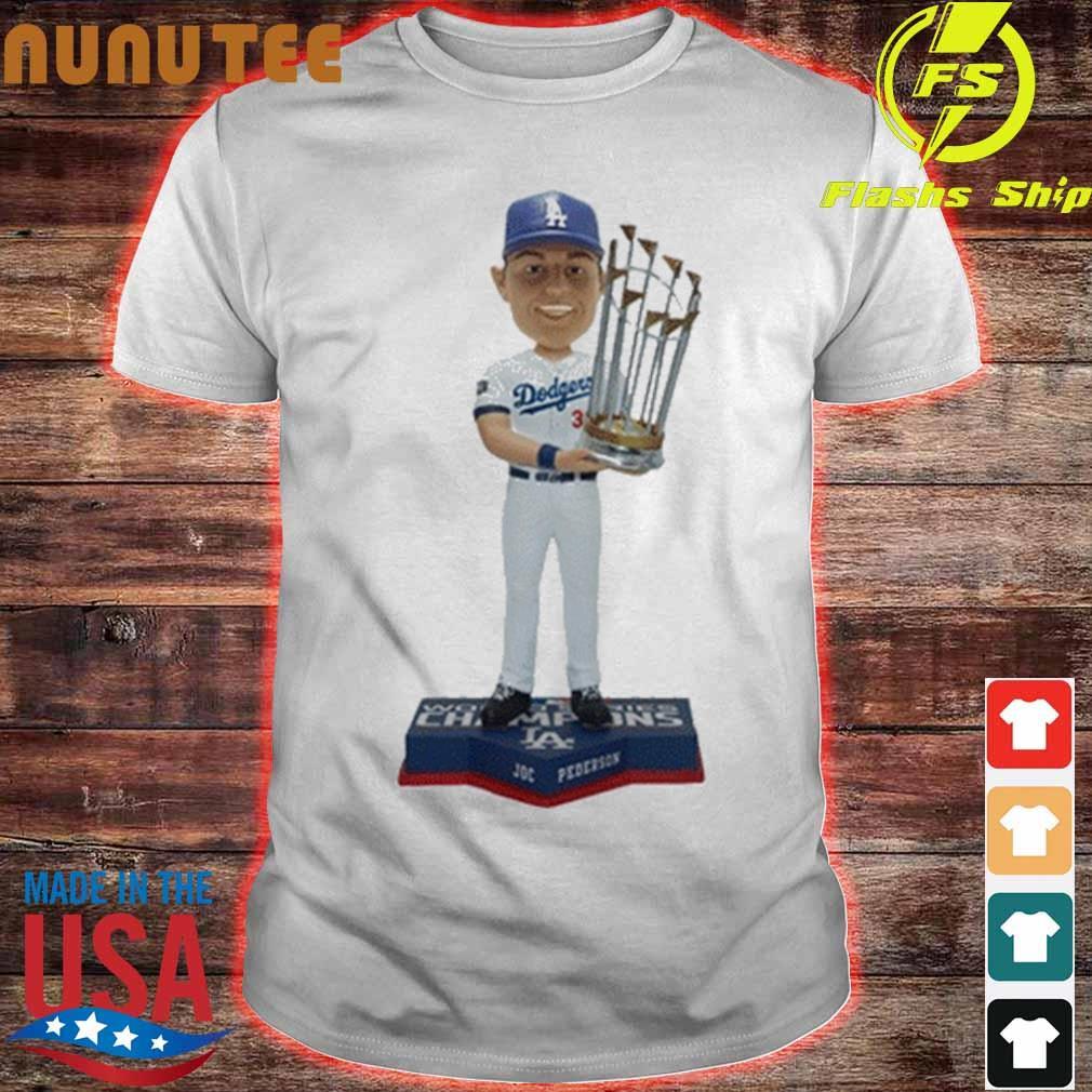 Los Angeles Dodgers 2020 World Series Champions Joc Pederson Shirt