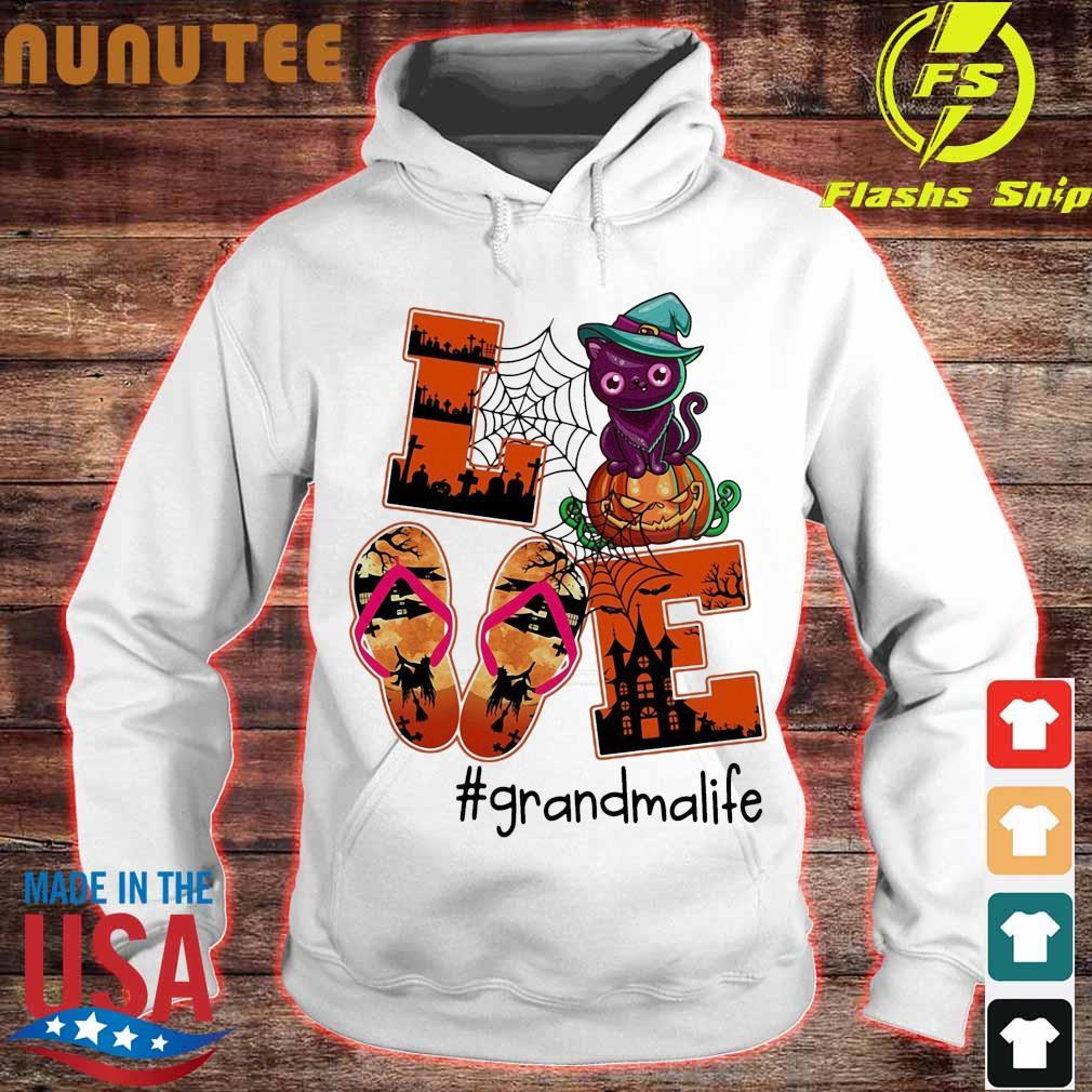 Love Grandma Life Halloween Shirt hoodie