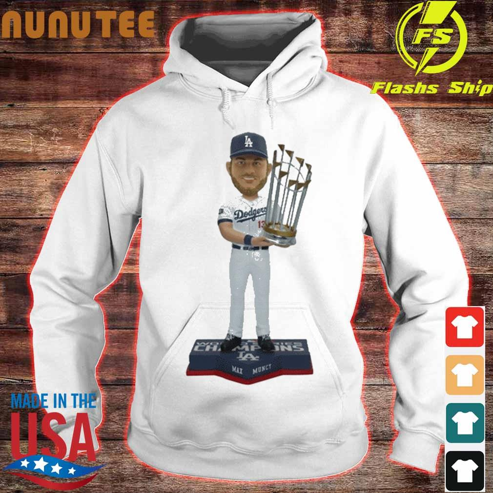 Max Muncy Los Angeles Dodgers 2020 World Series Champions Shirt hoodie