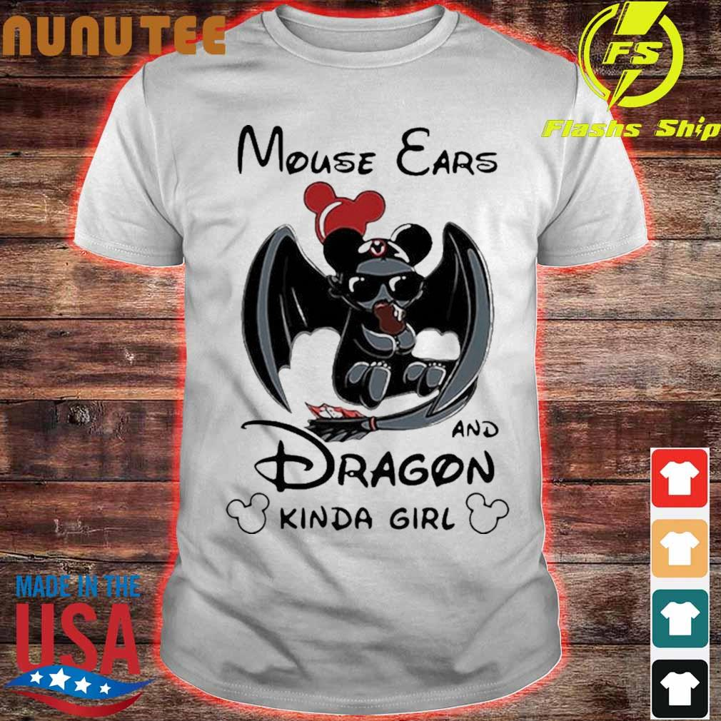 Mickey Mouse Ears And Dragon Kinda Girl Shirt