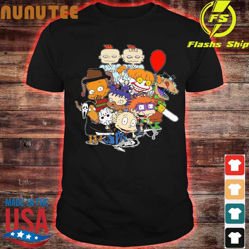 Rugrats Horror Characters Version Shirt