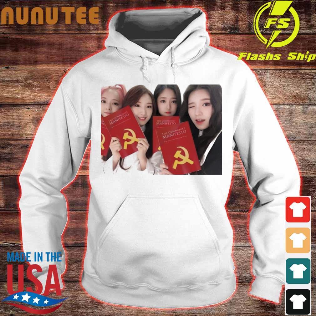 Loona The Communist Manifesto Shirt hoodie
