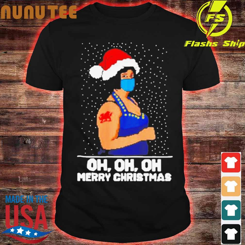 Official Oh Oh Oh Merry Ugly Christmas Shirt